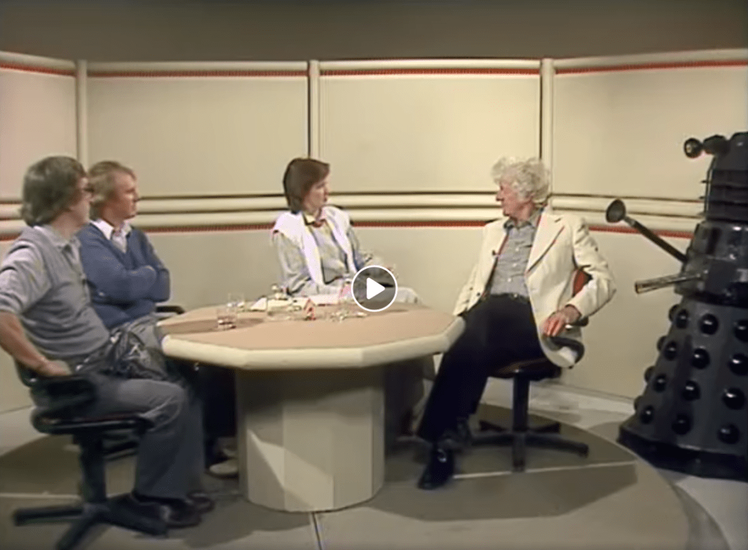 BBC Archive - Patrick Trougton, Peter Davison, Sue Lawley and Jon Pertwee - 17 March 1983 - Nationwide