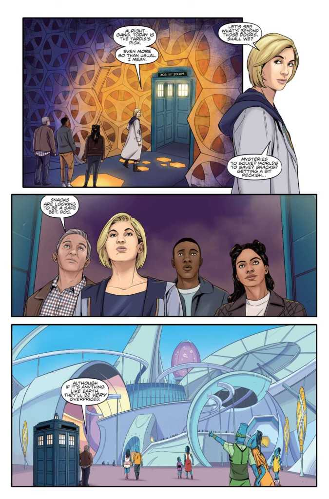 Titan Comics – Doctor Who: The Thirteenth Doctor – Free Comic Book Day 2019 – Page 1