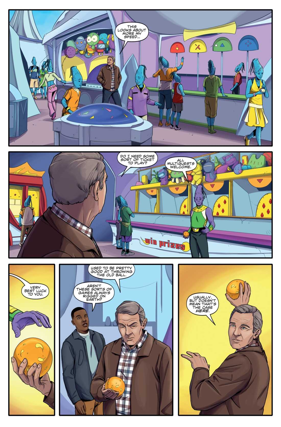 Doctor Who Christmas Special 2019 Free REVIEW: Doctor Who: The Thirteenth Doctor   Free Comic Book Day