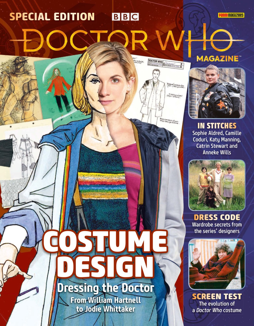 Doctor Who Magazine - Special Edition - Costume Design (Cover)