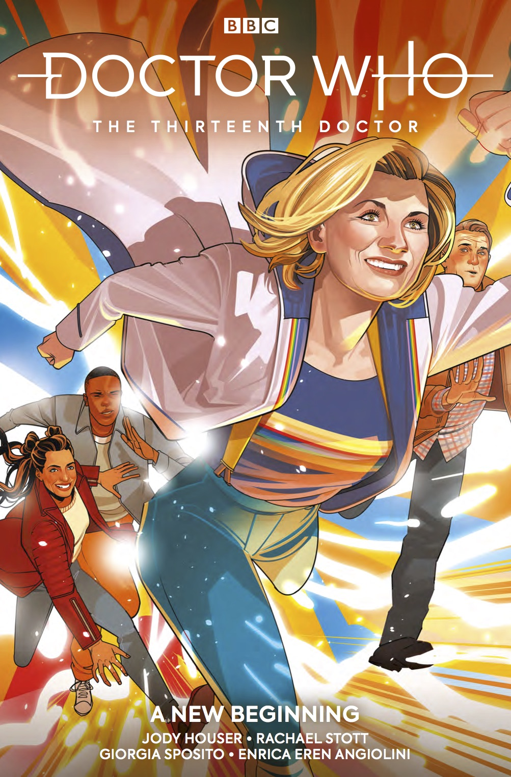 Titan Comics – Doctor Who: The Thirteenth Doctor Vol. 1 – Cover