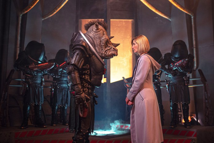 Doctor Who - Series 12 - Judoon Fugitive of the Judoon Thirteenth Doctor Jodie Whittaker Captain Pol Kon-don