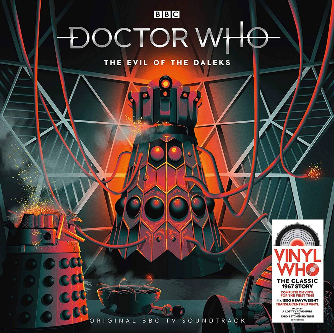 Doctor Who: The Evil of the Daleks Vinyl Cover (c) Demon Music Group/BBC Studios
