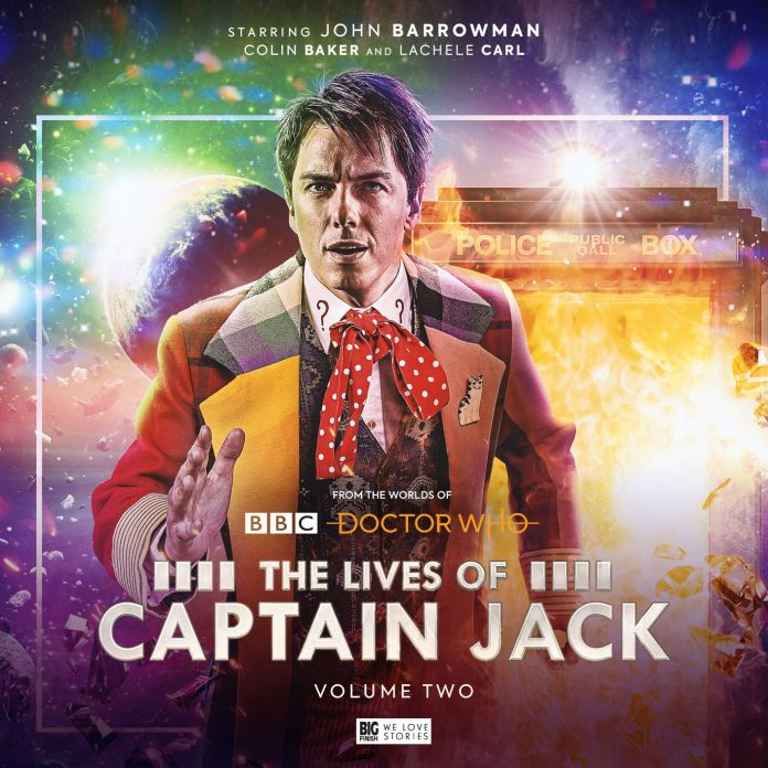 The Lives of Captain Jack Volume 2. Cover by Lee Binding. (c) Big Finish Productions