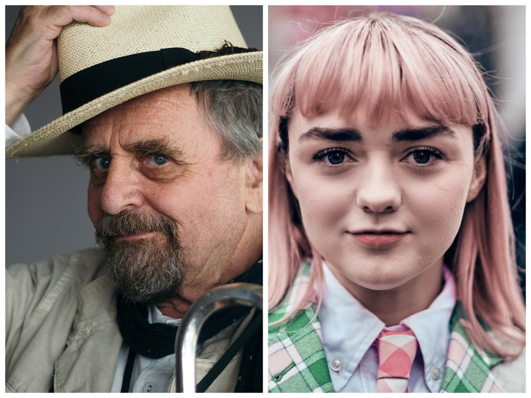 Sylvester McCoy and Maisie Williams star in The Owners - McCoy photo (c) Simon King / Williams photo (c) Myles Kalus, Anak Jihem