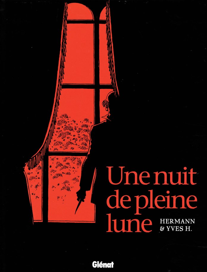 The graphic novel Une Nuit de Pleine Lune, on which The Owners is based. Cover by Hermann Huppen (c) Hermann Huppen