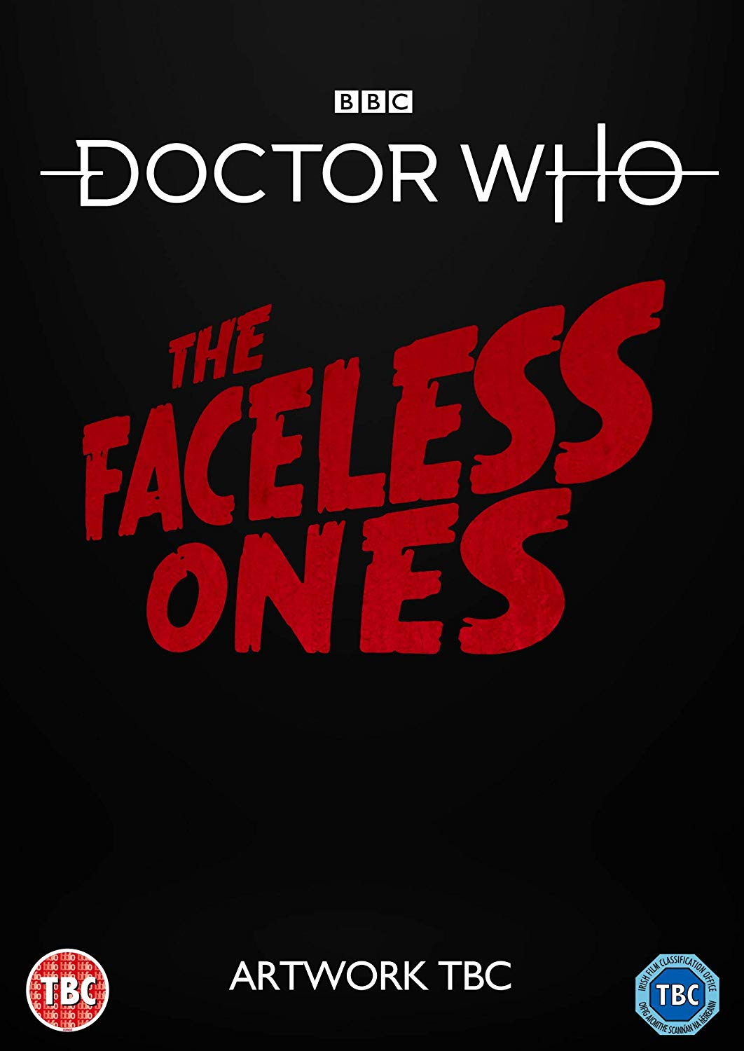 The placeholder cover to The Faceless Ones DVD (c) BBC Studios
