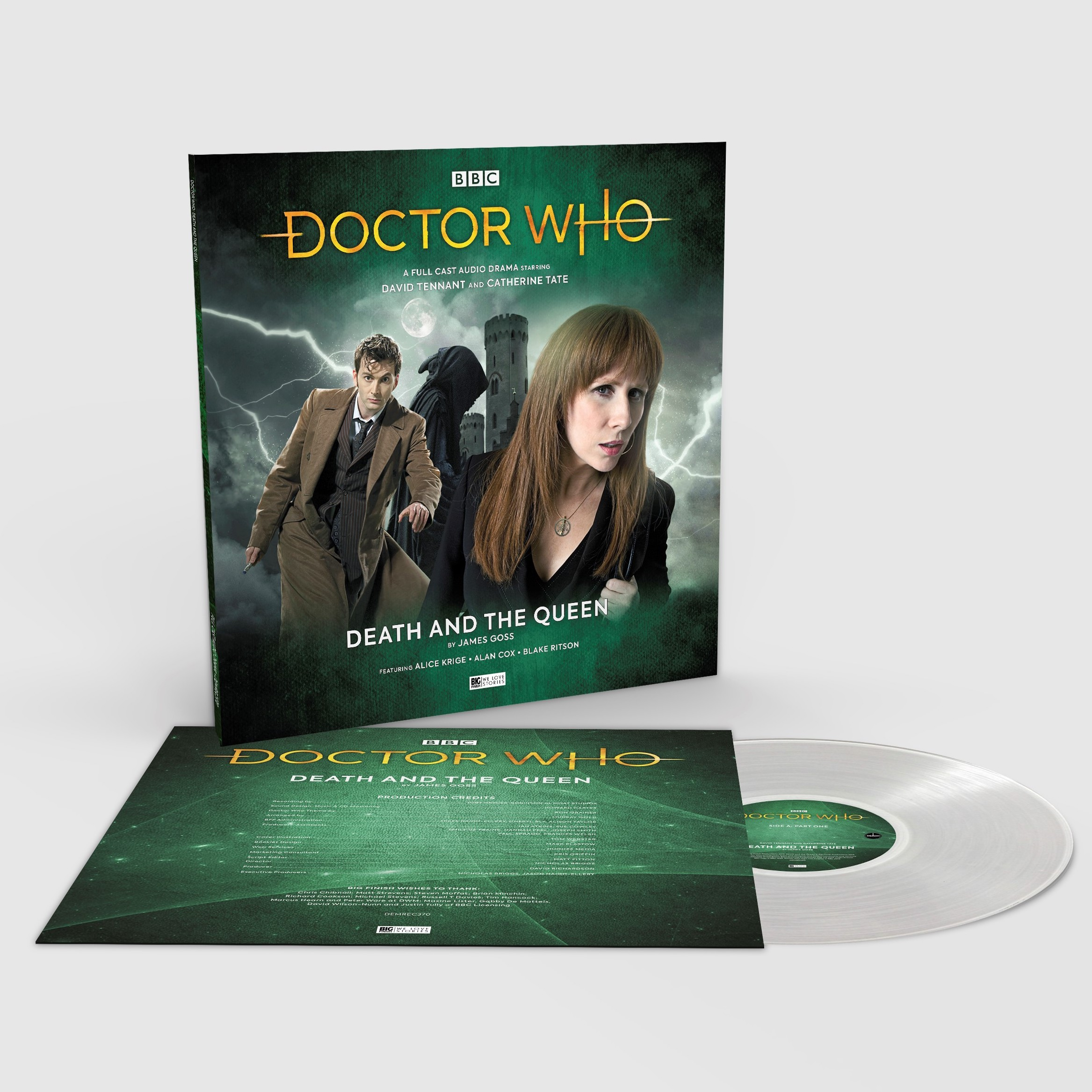 BIG FINISH: 'Death and the Queen' to be released on vinyl in HMV