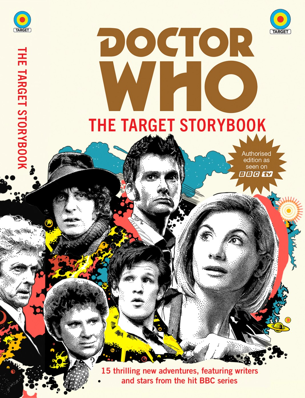 The Doctor Who Target Storybook. Cover by Anthony Dry. (c) BBC Books