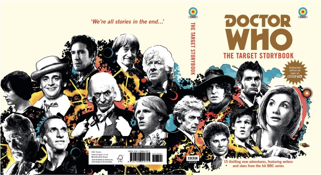 Doctor Who: The Target Storybook. Cover by Anthony Dry (c) BBC Books