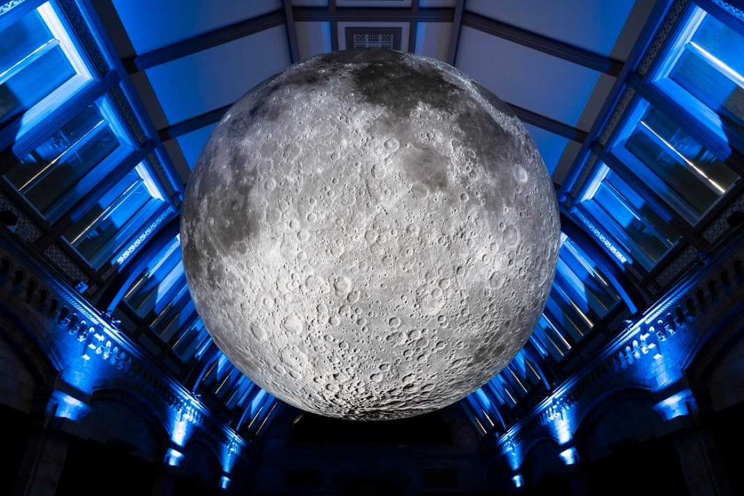 Museum of the Moon at the Natural History Museum (c) Natural History Museum