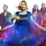 Doctor Who Series 12 - Graham (BRADLEY WALSH), The Doctor (JODIE WHITTAKER), Yaz (MANDIP GILL), Ryan (TOSIN COLE) - (C) BBC Studios - Photographer: Alan Clarke