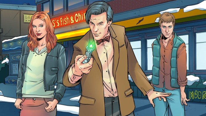 Doctor Who: Infinity - The Silent Streets of Barry Island features stylish art from Emma Vieceli (c) TinyRebel Games