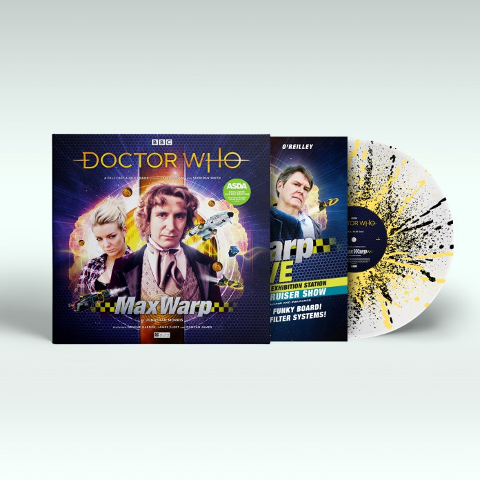 The Vinyl release of Doctor Who: Max Warp (c) Big Finish Productions