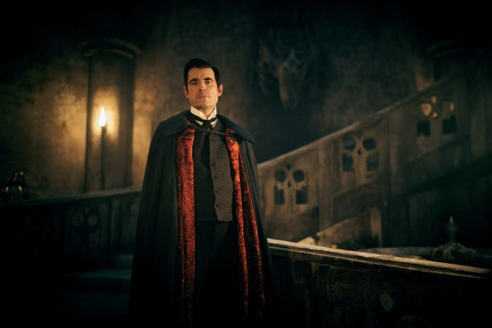 Dracula (CLAES BANG) in the new version from Steven Moffat and Mark Gatiss - (C) Hartswood Films - Photographer: Robert Viglasky