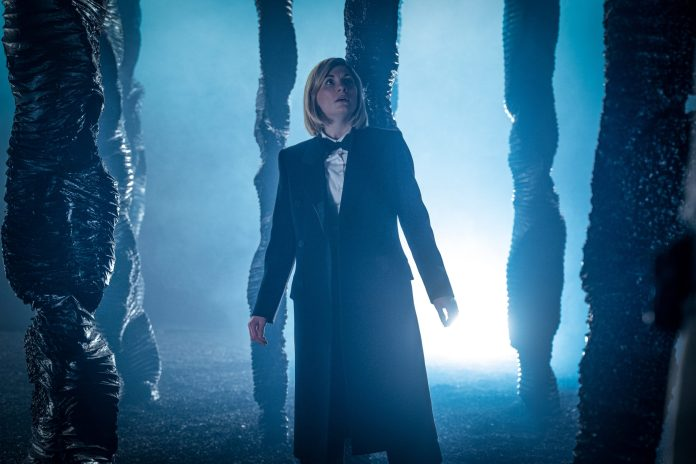 The Doctor (JODIE WHITTAKER) finds herself lost among the unknown in Doctor Who: Spyfall - (C) BBC - Photographer: Ben Blackall