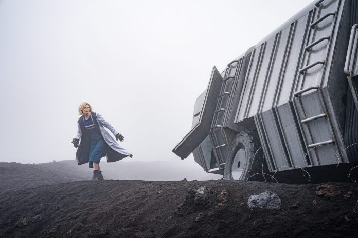 Doctor Who - Orphan 55- S12E03 - The Doctor (JODIE WHITTAKER) - (C) BBC - Photographer: Ben Blackall