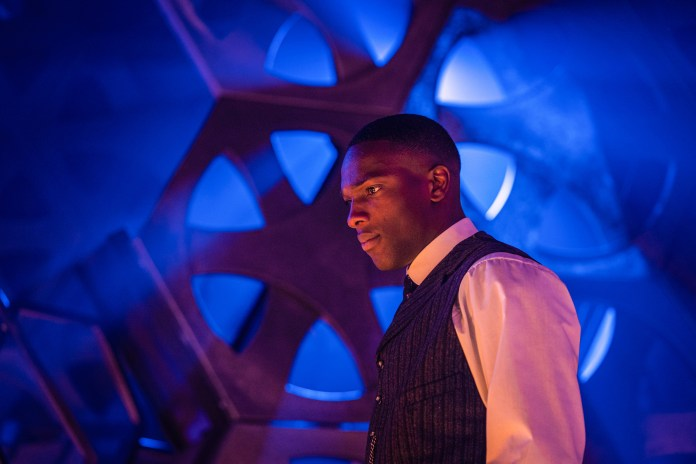 Doctor Who - S12E04 - Nikola Telsa's Night of Terror - Ryan (TOSIN COLE) - (C) BBC - Photographer: Ben Blackall