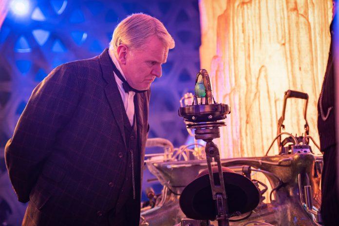 Thomas Edison (ROBERT GLENISTER) - (C) BBC - Photographer: Ben Blackall Doctor Who Series 12 Nikola Tesla's Night of Terror
