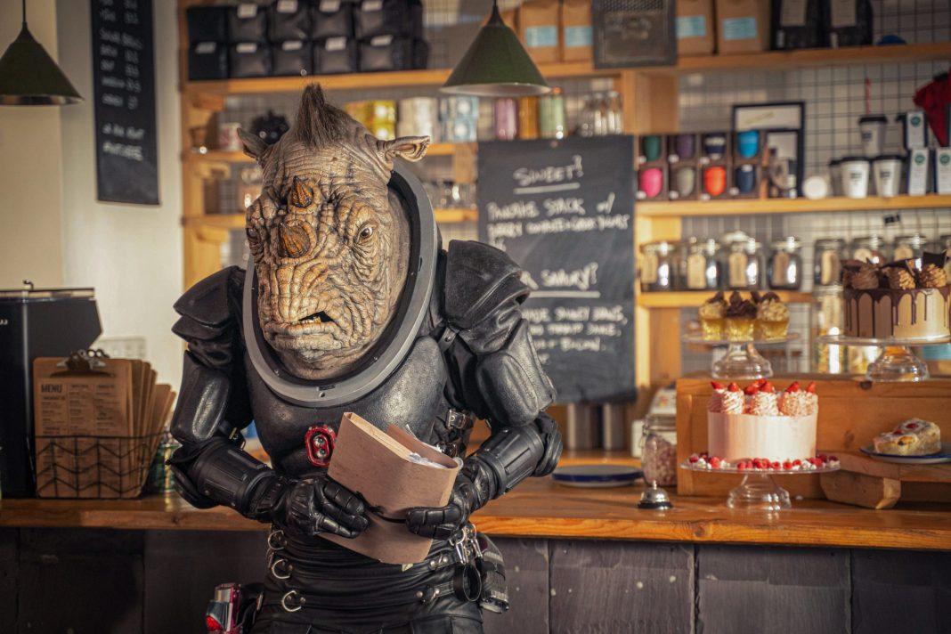 Doctor Who - Fugitive of the Judoon - S12E05 - Judoon Captain - Photo Credit: James Pardon (c) BBC Studios