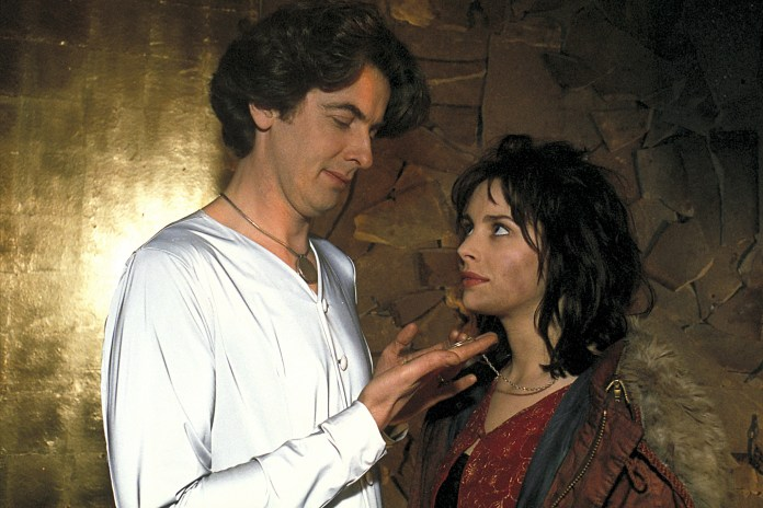 Doctor Who: Orphan 55 guest starLara Fraser as Door, opposite Peter Capaldi as the Angel Islington in Neverwhere © BBC 1996
