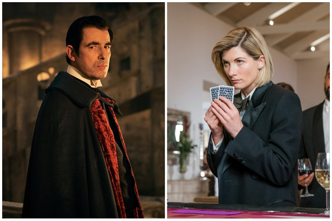 Poker faces! Doctor Who and Dracula face off in the viewing figures race to #1 (c) BBC Studios/Hartswood Films
