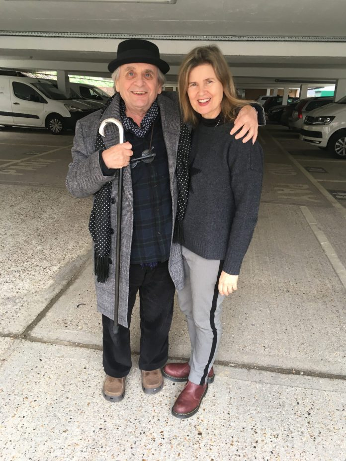 Sylvester McCoy (The Doctor) & Sophie Aldred (Ace) are ready for another adventure this Christmas (c) Big Finish Productions Doctor Who
