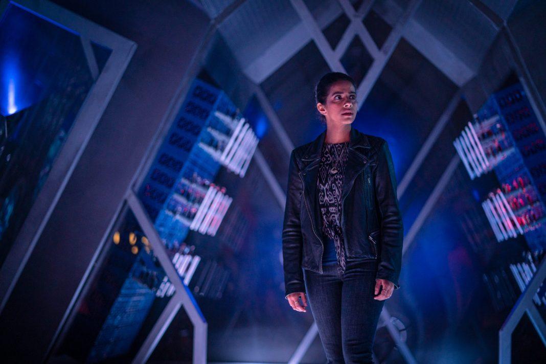 Doctor Who - Can you hear me? S12E07: Mandip Gill as Yaz - Photo Credit: James Pardon/BBC Studios/BBC America