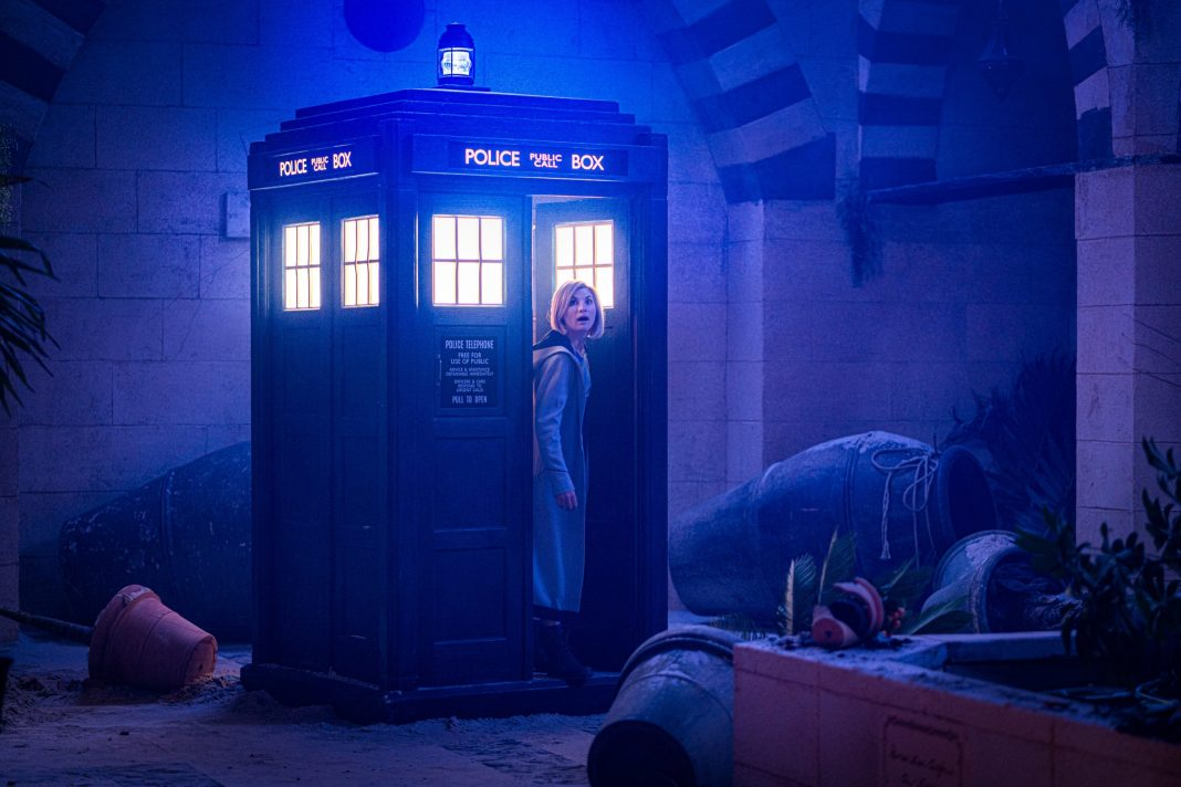 Doctor Who - Can you hear me? S12E07 - Jodie Whittaker as The Doctor - Photo Credit: Ben Blackall/BBC Studios/BBC America