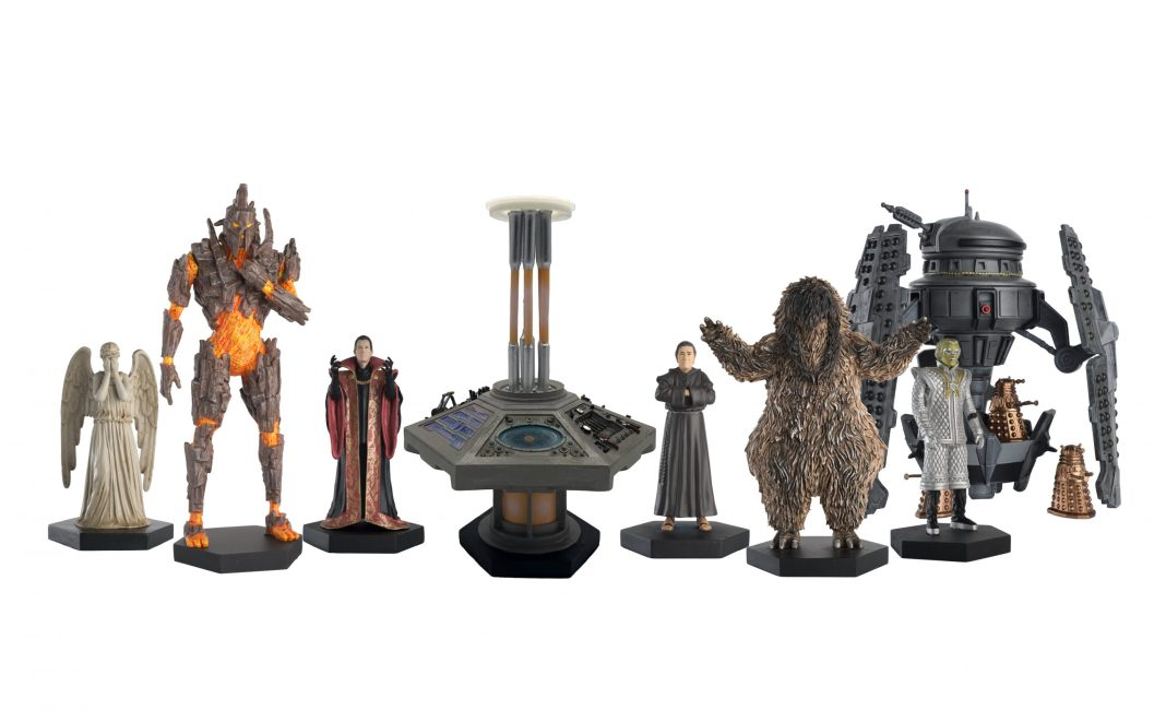 The Doctor Who Figurines set to be released in May 2020 from Hero Collector (c) Hero Collector