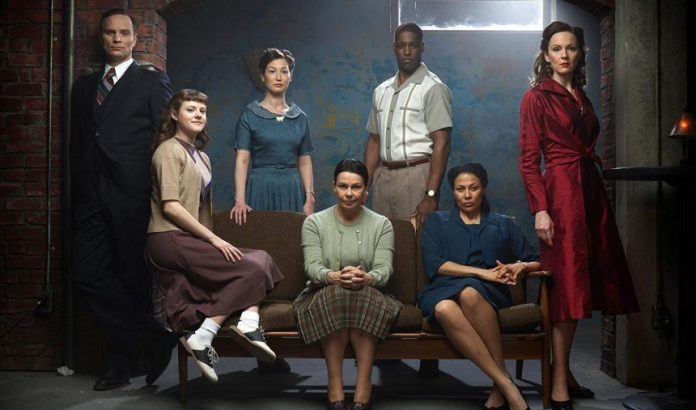 Julie Graham as Jean and her team of crime busters in The Bletchley Circle: San Francisco (c) ITV/CityTV