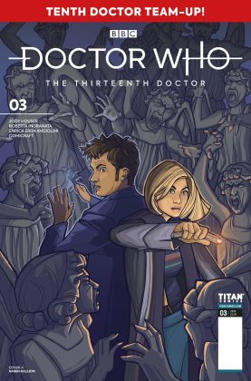 Titan Comics – Doctor Who: The Thirteenth Doctor: Season Two #3 – Cover A: Karen Hallion