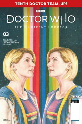 Titan Comics – Doctor Who: The Thirteenth Doctor: Season Two #3 – Cover C: Andy Walker
