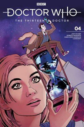 Titan Comics – Doctor Who: The Thirteenth Doctor: Season Two #4 – Cover A: Sanya Anwar