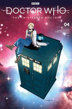 Titan Comics – Doctor Who: The Thirteenth Doctor: Season Two #4 – Cover C: Comicraft