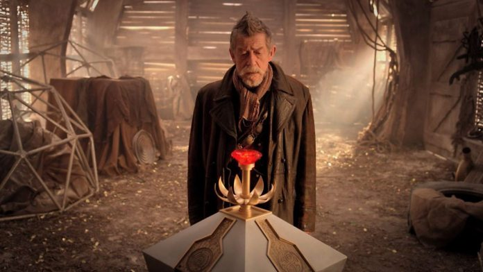 John Hurt from the War Doctor from The Day of the Doctor (c) BBC Studios