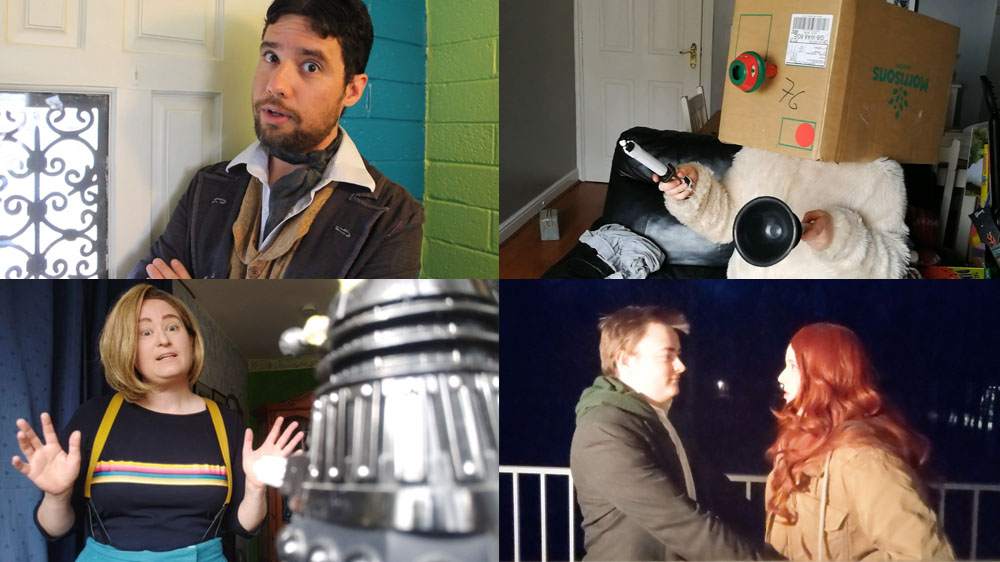 Fans around the world have been coming together to reenact their favourite moments for 'Homemade Who' Doctor Who Cosplay
