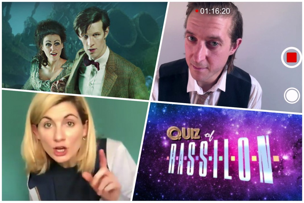 The third week of lockdown featured video messages from Rory and the Doctor, a new short story by Steven Moffat, a live tweet of The Doctor's Wife and the Quiz of Rassilon regenerated into digital form (c) BBC Studios/Quiz of Rassilon Doctor Who Arthur Darvill Rory Williams #BiggerOnTheInside Jodie Whittaker Thireenth Doctor