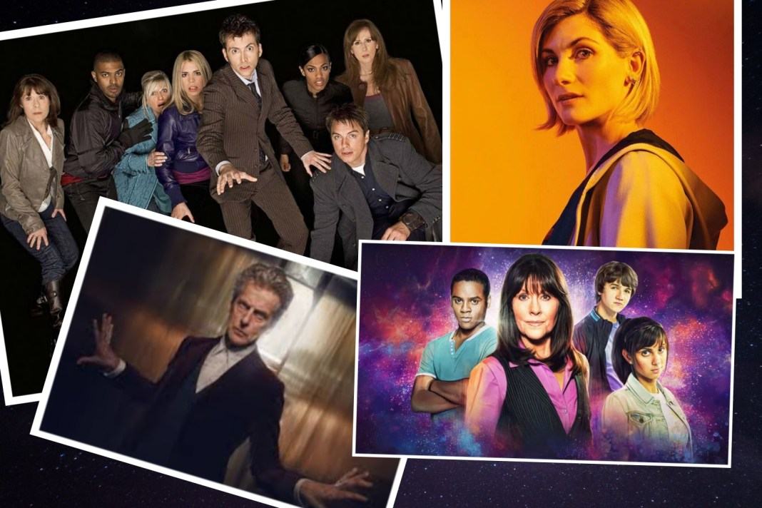 Doctor Who Lockdown Week 4 Thirteenth Doctor Tenth Doctor Twelfth Doctor Sarah Jane Smith Sarah Jane Adventures