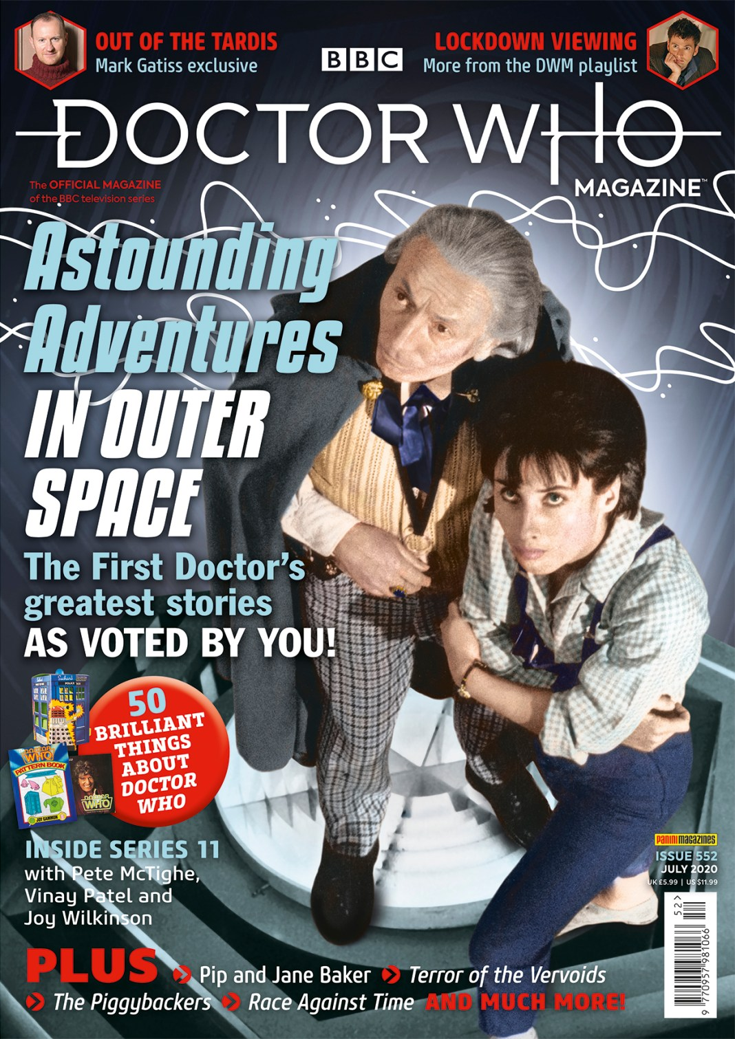 Doctor Who Magazine - Issue #552 (Cover)