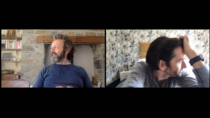 BBC One - Staged - Michael Sheen and David Tennant (C) GCB Films/Infinity Hill