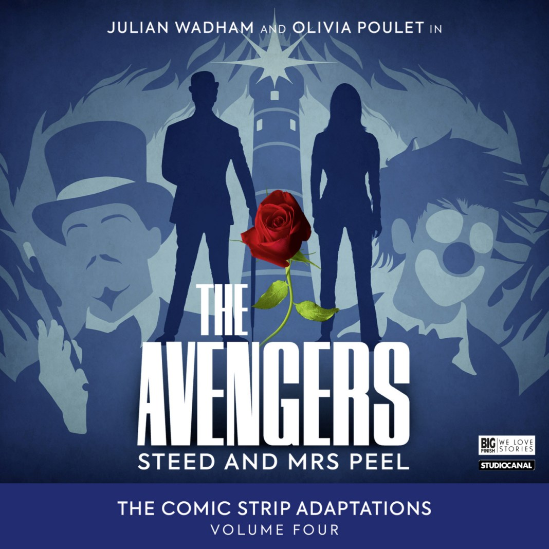 The Avengers: Steed and Mrs. Peel - The Comic Strip Adaptations Vol.4 (c) Big Finish Productions