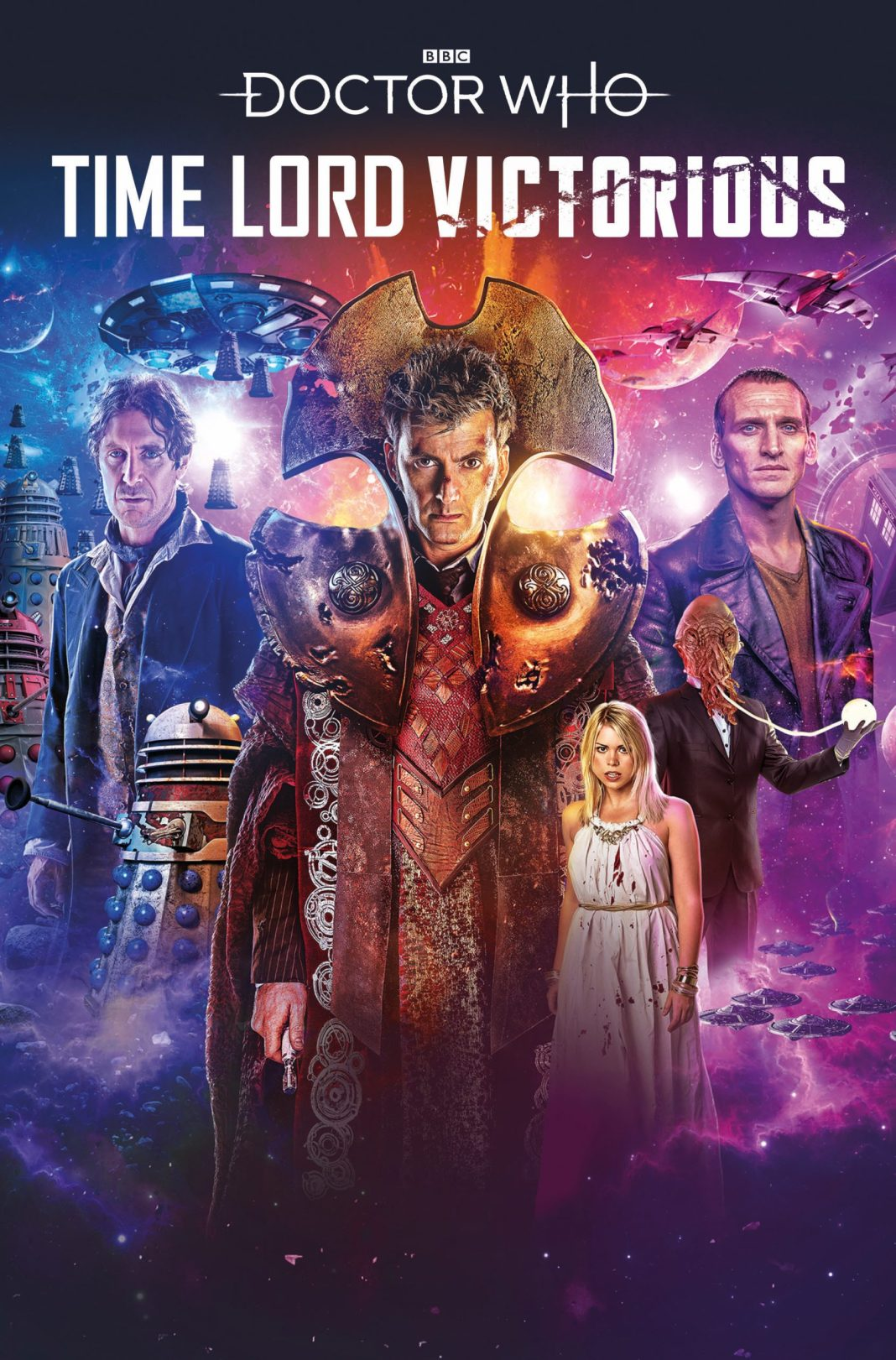 Titan Comics - Doctor Who: Time Lord Victorious #1 - Cover A: Lee Binding