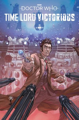 Titan Comics - Doctor Who: Time Lord Victorious #1 - Cover C: Andie Tong