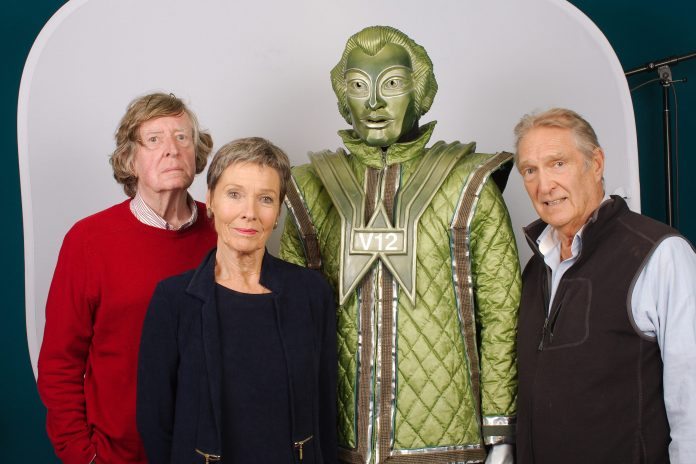 The Robots: Volume Two - David Collings, Pamela Salem, V12 and Gregory De Polnay (c) Big Finish Doctor Who The Robots of Death Poul Toos