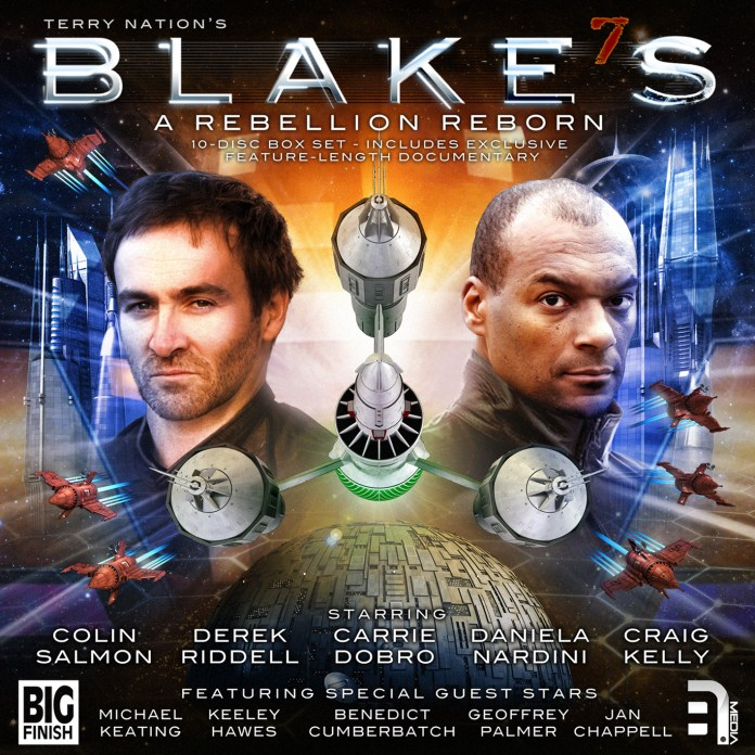 Blake's 7: A Rebellion Reborn collects the original audio trilogy, plus the Early Years cycle (c) Big Finish Colin Salmon Liberator