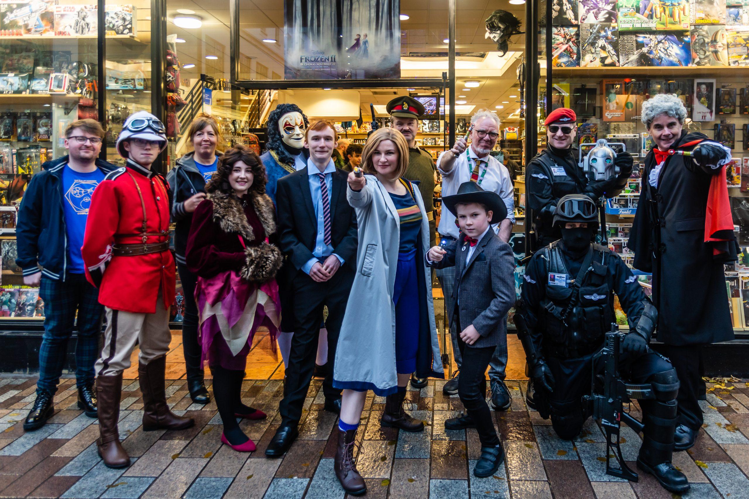Doctor Who Day 2019/ Photograph by Jason Murphy (c) Jason Murphy Titan Comics Cosplay