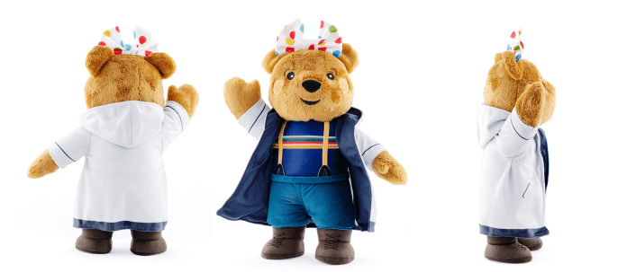 The new Blush Thirteenth Doctor teddy bear in aid of Children in Need (c) BBC Children in Need Doctor Who