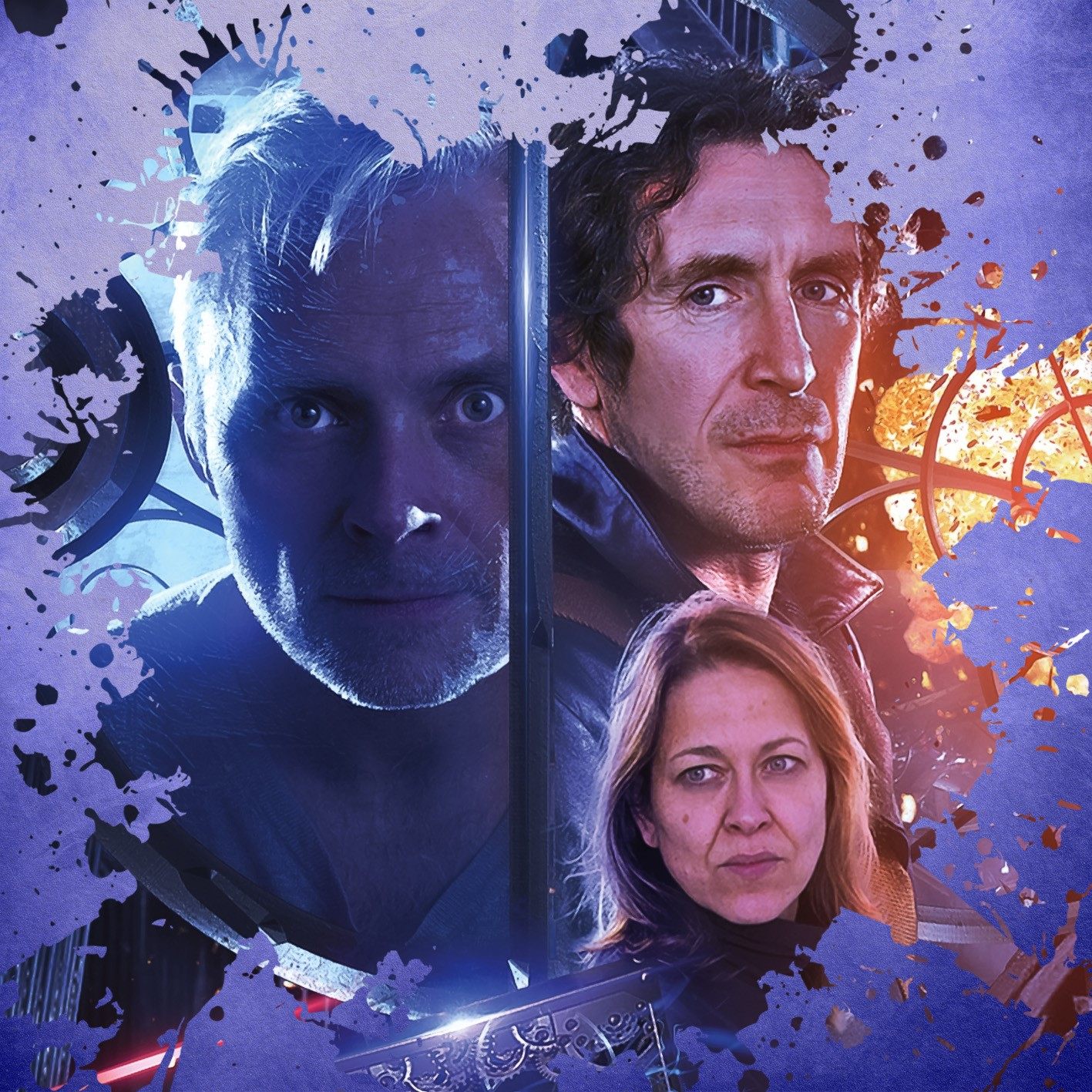 Doom Coalition: The Eleven. Cover by Tom Webster (c) Big Finish Productions Doctor Who Eighth Doctor Paul McGann Mark Bonnar Nicola Walker