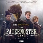 Paternoster Gang: Heritage 4 (c) Big Finish Productions Doctor Who Madame Vastra Jago & Litefoot Jenny Flint Sontaran Strax